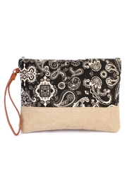Riah Fashion Paisley Print Cosmetic-Bag - Product Mini Image