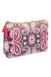 Riah Fashion Paisley Print Cosmetic Pouch - Product Mini Image