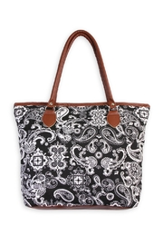 Riah Fashion Paisley Tote Bag - Product Mini Image