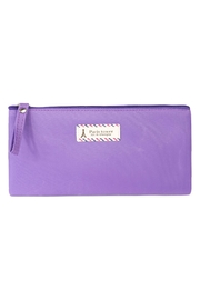 Riah Fashion Clear Cosmetic Bag - Back cropped