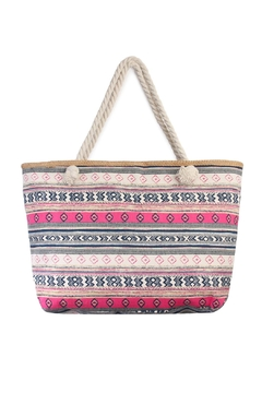 Shoptiques Product: Pattern-Striped Tote Bag