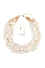 Riah Fashion Necklace Earrings Set - Front cropped