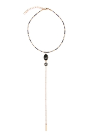 Riah Fashion Pendant Bar Choker - Product Mini Image