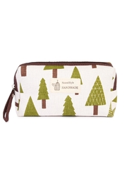 Riah Fashion Pine Tree Pouch - Product Mini Image