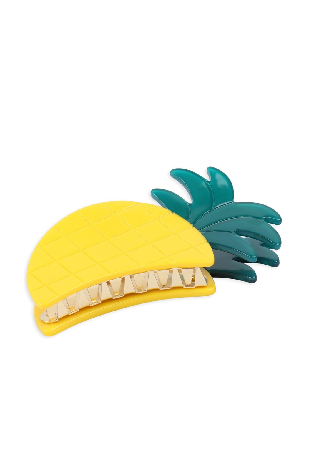 Riah Fashion Pineapple-Hair-Claw-Clip - Main Image