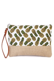 Riah Fashion Pineapple Wristlet Pouch - Product Mini Image