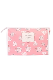 Riah Fashion Floral Large Cosmetic Bag - Product Mini Image