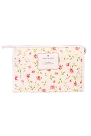 Riah Fashion Pink Rose  Cosmetic Bag - Product Mini Image