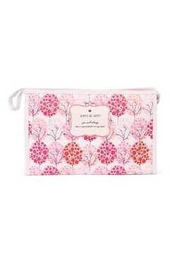 Shoptiques Product: Pink Tree Cosmetic Bag