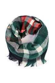 Riah Fashion Plaid Infinity Scarf - Product Mini Image