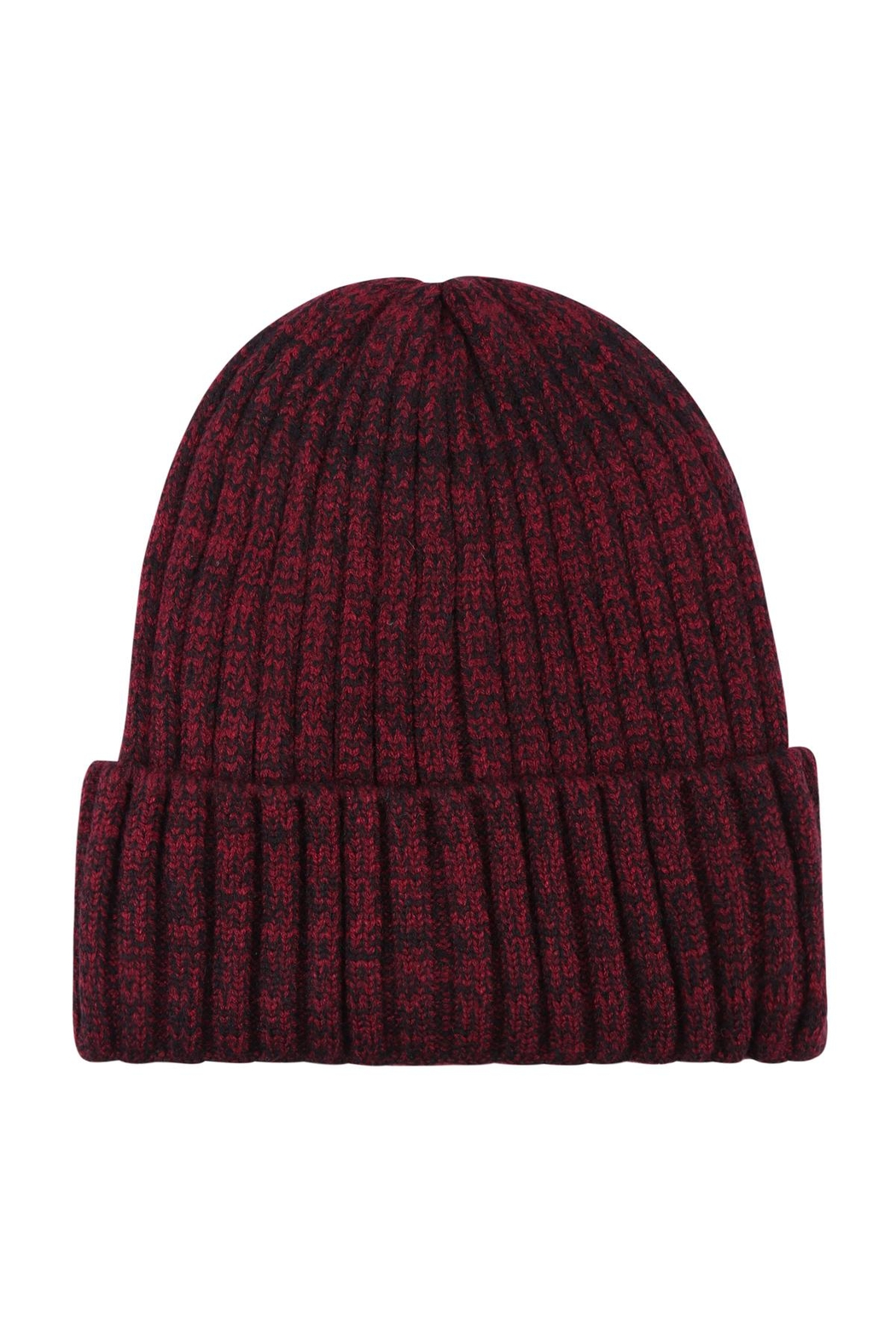 Riah Fashion Plain-Knitted-Beanie - Front Cropped Image
