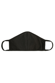 Riah Fashion Plain Reusable Face Mask For Adults With Filter Pocket - Front cropped