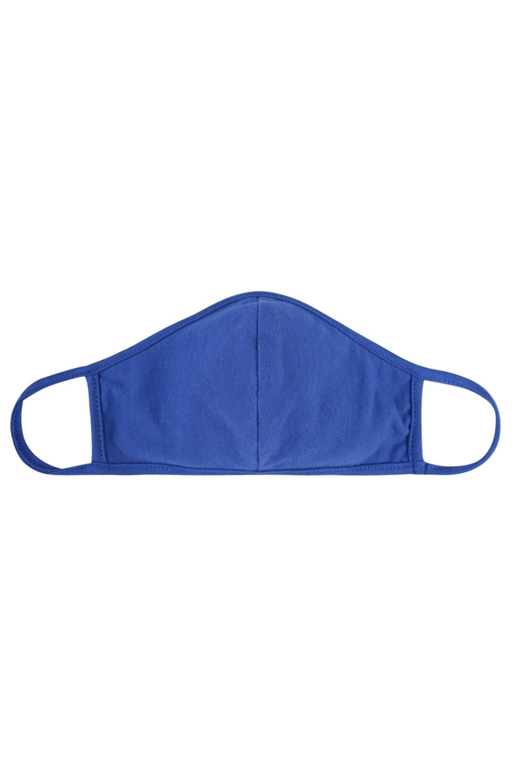 Riah Fashion Plain Reusable Face Mask For Adults With Filter Pocket - Front Cropped Image