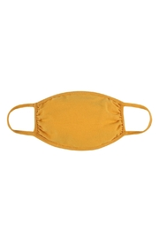 Riah Fashion Plain Reusable Face Mask For Adults - Front full body