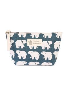 Shoptiques Product: Polar Bear Print Pouch