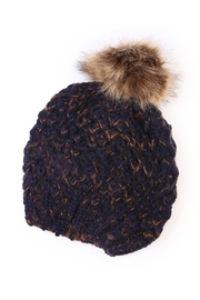 Riah Fashion Pom Knitted Beanie - Product Mini Image