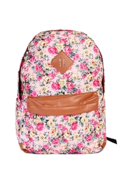 Riah Fashion Posh Floral  Backpack - Product Mini Image