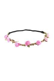 Riah Fashion Posh Floral Headband - Product Mini Image