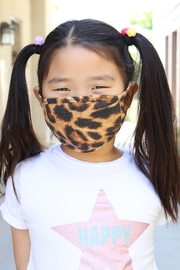 Riah Fashion Print Reusable Face Mask For Youth With Filter Pocket - Product Mini Image