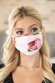 Riah Fashion Print Reusable Pleated Face Masks For Adults - Product Mini Image