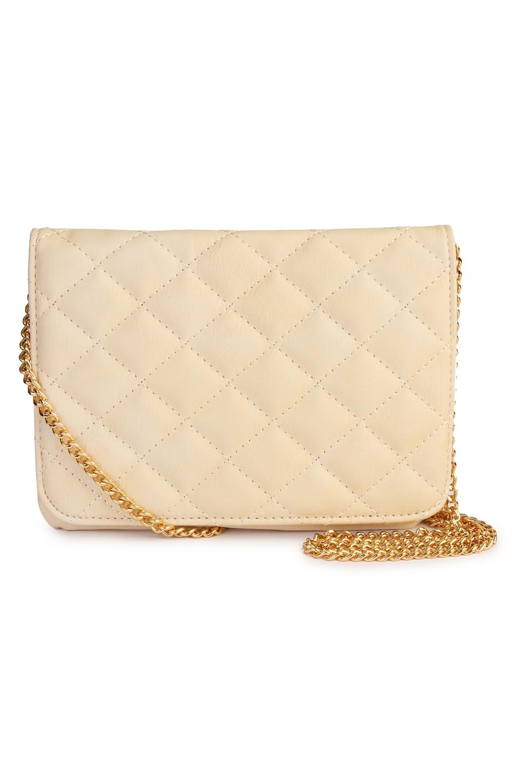 Riah Fashion Quilted Chan Crossbody Bag - Main Image