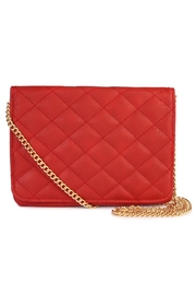 Riah Fashion Quilted Chan Crossbody Bag - Front cropped