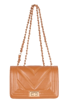 Riah Fashion Quilted-Designe-Leather-Fahion-Bag-Cross-Body-Bag - Product List Image