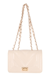 Riah Fashion Quilted-Designe-Leather-Fahion-Bag-Cross-Body-Bag - Front cropped