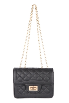 Riah Fashion Quilted-Diamond-Leather-Cross-Body-Bag - Product List Image