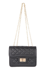 Riah Fashion Quilted-Diamond-Leather-Cross-Body-Bag - Product Mini Image