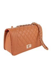 Riah Fashion Quilted-Diamond-Pattern-Fashion-Sling-Bag - Front full body