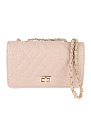 Riah Fashion Quilted-Diamond-Pattern-Fashion-Sling-Bag - Front cropped
