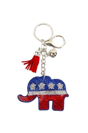 Riah Fashion Republican-Elephant-Keychain - Product Mini Image