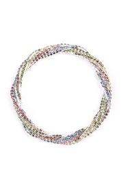 Riah Fashion Rhinestone Stretchable Bracelet - Front cropped