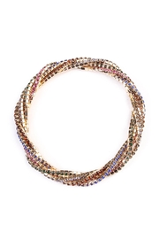 Riah Fashion Rhinestone Stretchable Bracelet - Product Mini Image