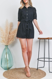 Riah Fashion Romper - Front cropped