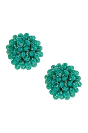 Riah Fashion Rondelle Post Earrings - Front cropped