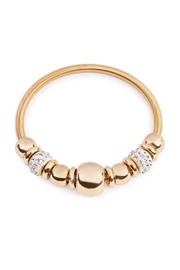 Riah Fashion Round Rhinestone Bracelet - Product Mini Image