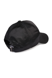 Riah Fashion Satin Baseball Cap - Front full body