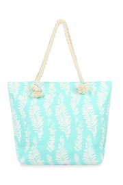 Riah Fashion Sea Weeds Printed Tote Bag - Product Mini Image