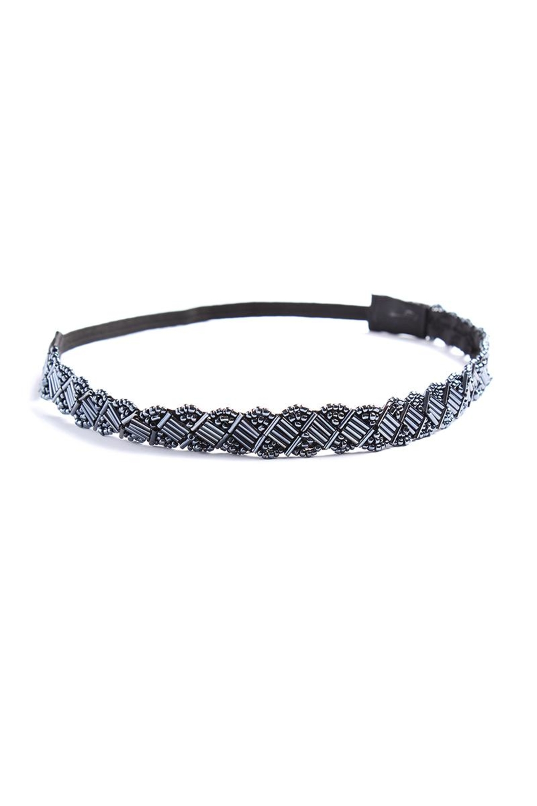 Riah Fashion Sequin Headband - Front Cropped Image