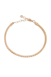 Riah Fashion Serpentine Chain Anklet - Product Mini Image