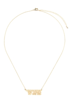 Riah Fashion She Believed She Could So She Did Necklace - Alternate List Image