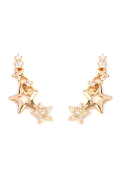 Shoptiques Product: Shooting Star Crawler-Earring