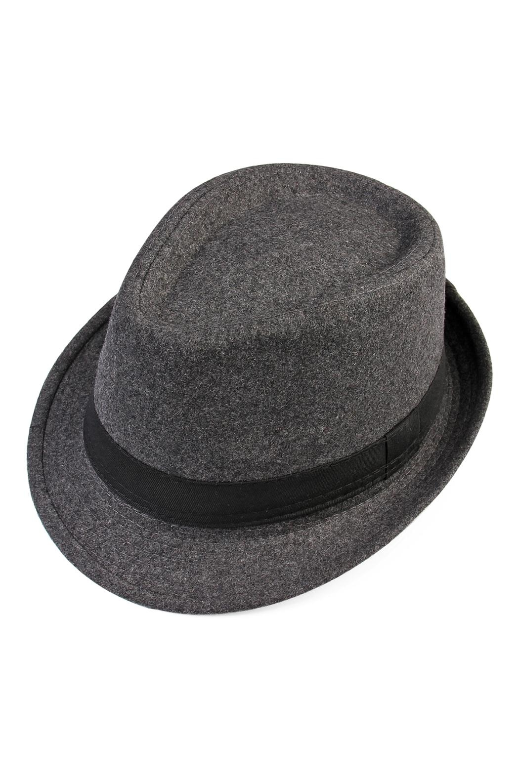 Riah Fashion Short Brim Fedora - Main Image