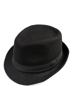 Riah Fashion Short Brim Fedora - Product List Image