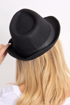 Riah Fashion Short Brim Fedora - Alternate List Image