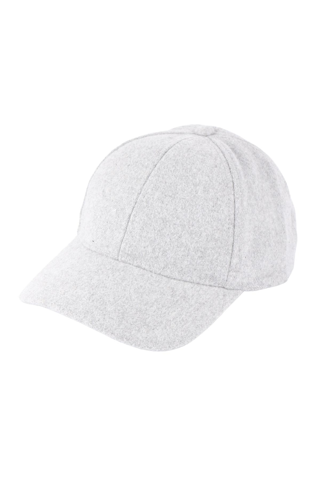 Riah Fashion Simple-Neutral-Color-Cap - Front Full Image