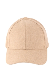 Riah Fashion Simple-Neutral-Color-Cap - Front cropped