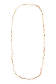Riah Fashion Gold Boho Long Necklace - Product Mini Image